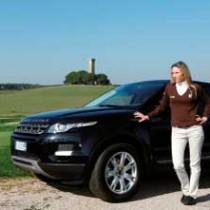 Diana Luna testimonial di Range Rover Evoque