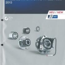 Nuovo catalogo dei kit cuscinetti ruota Ruville